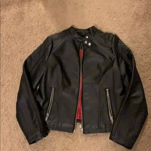 New York & co leather jacket